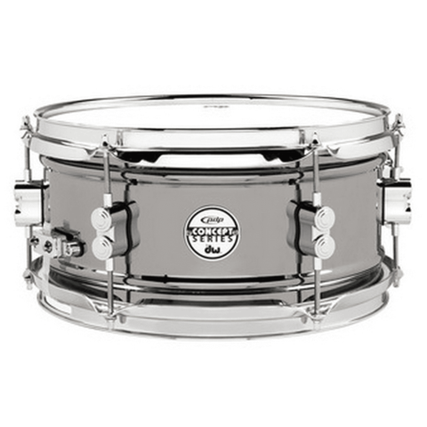PDP Concept Snare 6X12, Bn Over Steel, Cr Hw Black Nickel Over Steel