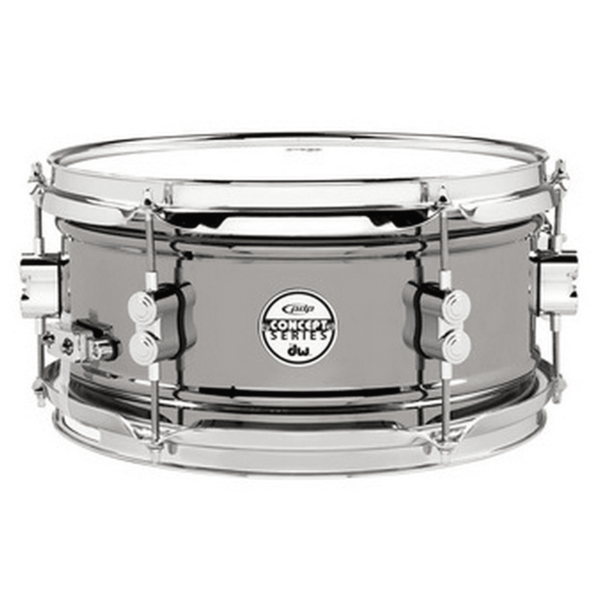 PDP PDP Concept Snare 6X12, Bn Over Steel, Cr Hw Black Nickel Over Steel