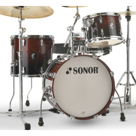Sonor Sonor AQ2 Bop Kit 4pc Shell Pack, Brown Fade Lacquer