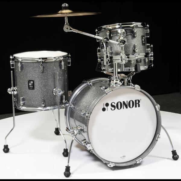 Sonor Sonor AQ2 Bop Kit 4pc Shell Pack, Titanium Quartz Lacquer