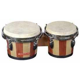 Percussion Plus Percussion Plus 714 Tunable Bongos Natural