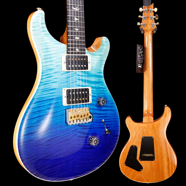 PRS PRS Paul Reed Smith Custom 24 10 Top, Blue Fade 476 6lbs 14.9oz