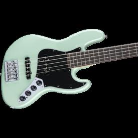 Fender Fender Deluxe Active Jazz Bass V, Pau Ferro Fb, Surf Pearl