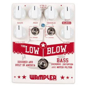 Wampler Wampler Low Blow Bass Overdrive Distortion