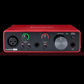 Focusrite Focusrite Scarlett Solo 3rd Gen USB Audio Interface 2-in / 2-out