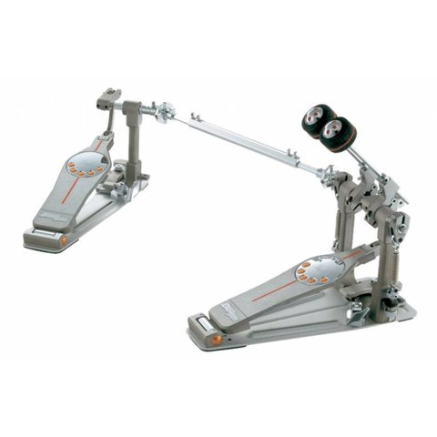 Floor Model Pearl P3002D Eliminator Double Bass Drum Pedal with Case