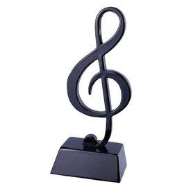 Music Treasures Co. Black Note Sculpture