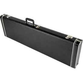 Fender G&G Standard Mustang/Musicmaster/Bronco Bass Hard Case Black w/ Acrylic Interior