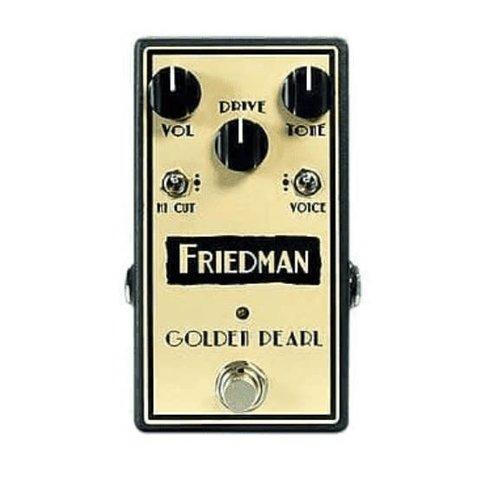 Friedman Golden Pearl Overdrive Pedal