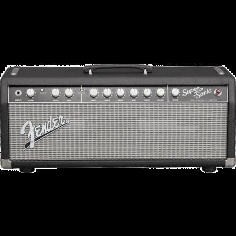 Fender Super-Sonic 22 Head, Black/Silver, 120V