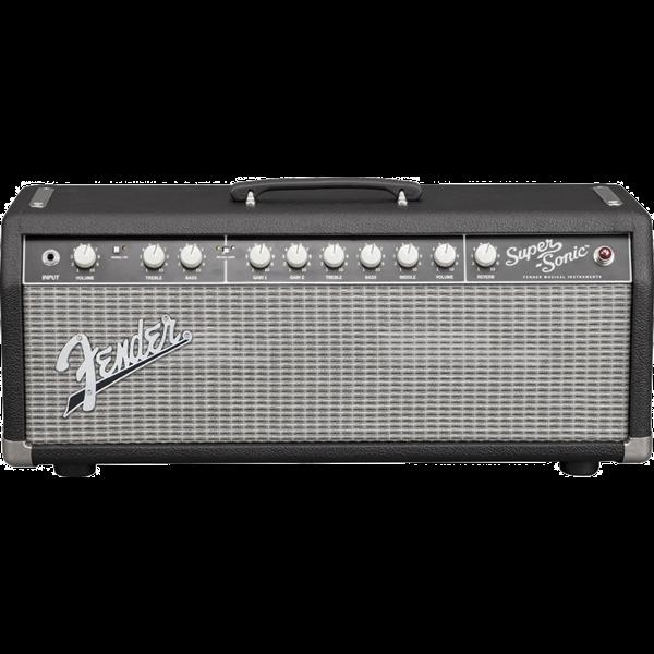 Fender Fender Super-Sonic 22 Head, Black/Silver, 120V