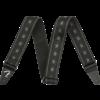 Fender Nylon Stars and Stripes Strap, Black/Grey