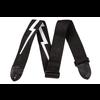Fender 2'' Nylon Lightning Bolt Strap, Black