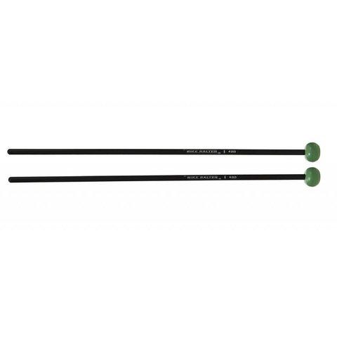 Mike Balter MB4BB Mallets, Medium, Black Light Green