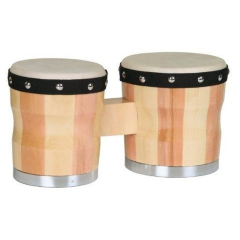 Percussion Plus 700 Two-Tone Wood Bongos