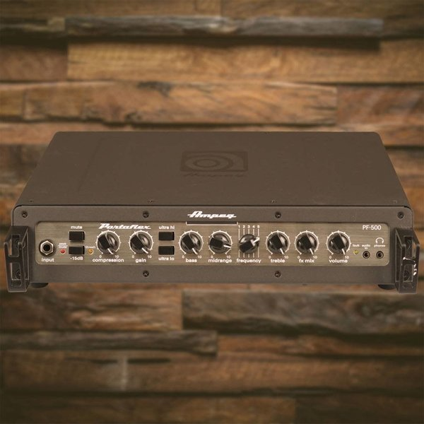 Ampeg Ampeg PF-500 Portaflex 500W RMS MOSFET Preamp D Class Power Amp Bass Head