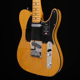 Fender Fender American Ultra Telecaster, Maple Fb, Butterscotch Blonde 483 7lbs 9.9oz