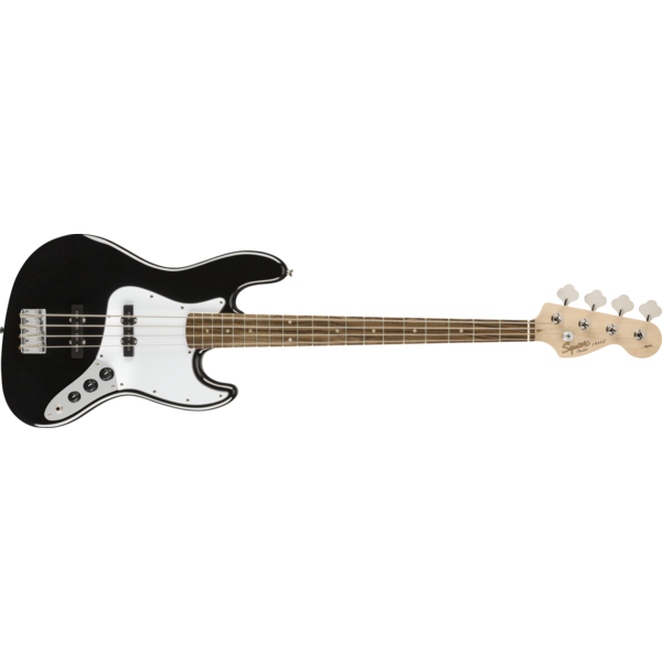 Squier Squier Affinity Jazz Bass, Laurel Fingerboard, Black