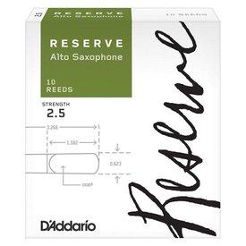 Rico Rico Reserve DJR1025 Alto Saxophone Reeds 10 Pack Strength 2.5