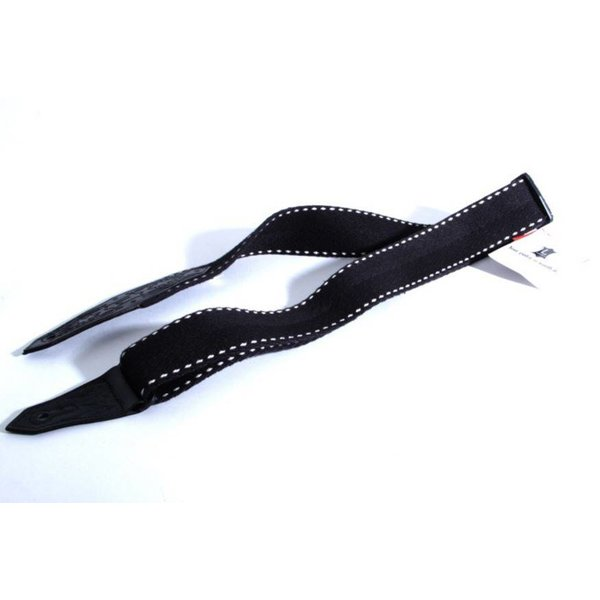"Levy's Leathers Levy's MSSC80-BLK 2"" Heavy-Weight Black Cotton Guitar Strap"