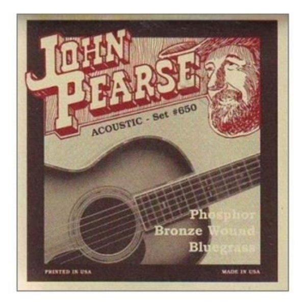 KMC John Pearse JP650LM Bluegrass Strings, Phosphor Bronze, .12-.56
