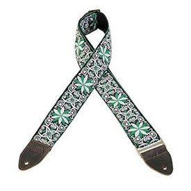 """Levy's Leathers Levy's M8HTV-11 2"""" Jacquard Weave Vintage Hootenanny Guitar Strap"""