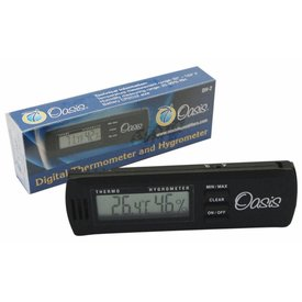 Oasis Oasis Digital Hygrometer with Case Clip