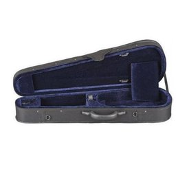 Toshira Toshira Shaped Violin Case Black Blue 1/2 Size