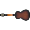 Gretsch G9241 Alligator Biscuit Round-Neck Resonator w Fishman Nash Pickup, 2-Color Sunburst