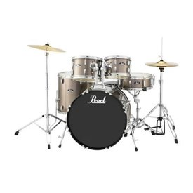 Pearl Pearl RS525SC/C707 RS Roadshow 5 pc Set w/ Hw & Cymbals #707 Bronze Metallic