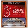"""Grover 96 5-String Banjo Bridge, 5/8"""""""