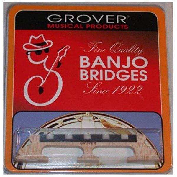"""Grover Grover 96 5-String Banjo Bridge, 5/8"""""""