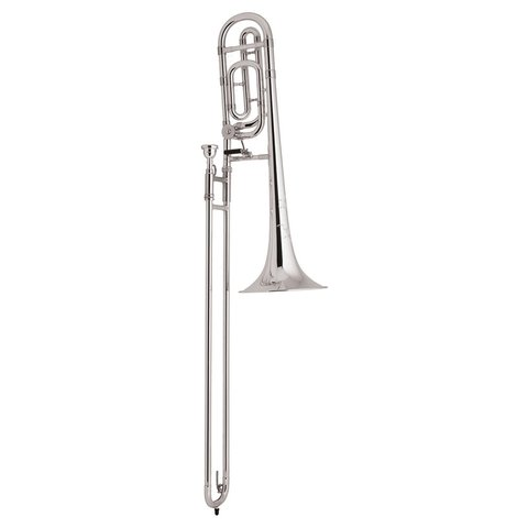 Bach TB200BS Performance Tenor Trombone w/ F Rotor, Silver Plated