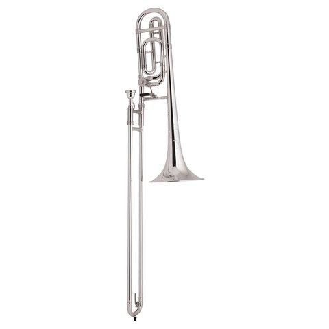 Bach TB200BS Performance Tenor Trombone w/ F Rotor, Silver Plated