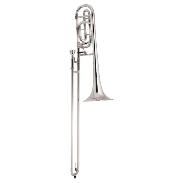 Bach Bach TB200BS Performance Tenor Trombone w/ F Rotor, Silver Plated