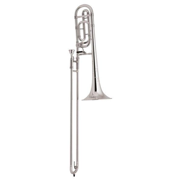 Bach Bach TB200BS Performance Tenor Trombone w/ F Rotor, Silver Plated