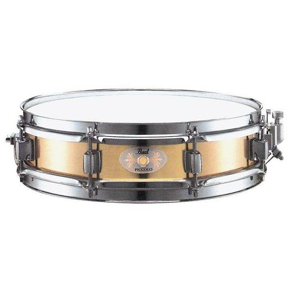 "Pearl Pearl B1330 13"" x 3"" Brass Shell Piccolo Snare Drum"