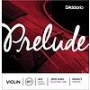 D'Addario Prelude Violin String Set, 4/4 Scale, Heavy Tension