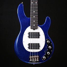 Music Man Ernie Ball Music Man Stingray Special HH, Roasted, Ebony, Tectonic Blue 399 9lbs 2.1oz