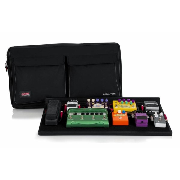 Gator Gator GPT-PRO-PWR Pedal Board w/ Carry Bag & Power Supply; Pro Size