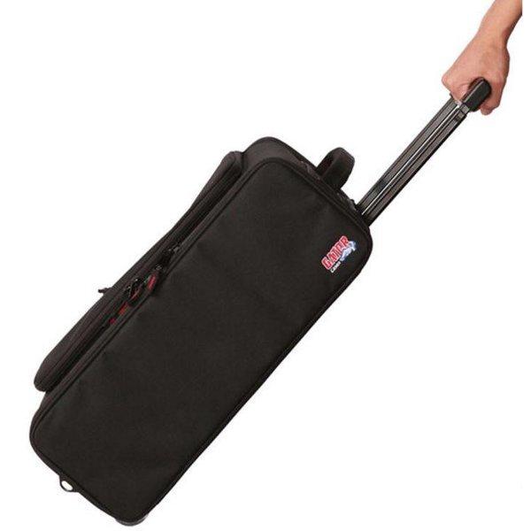 Gator Gator GR-RACKBAG-2UW 2U Lightweight rack bag w/ tow handle and wheels