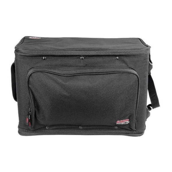 Gator Gator GR-RACKBAG-4UW 4U Lightweight rack bag w/ tow handle and wheels