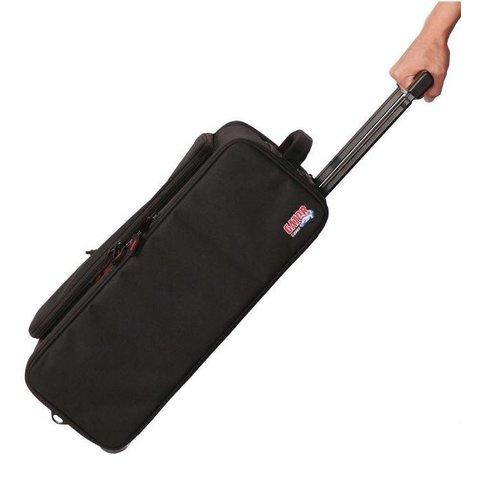 Gator GR-RACKBAG-3UW 3U Lightweight rack bag w/ tow handle and wheels
