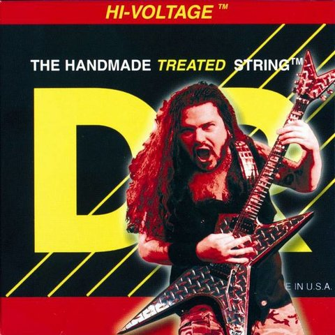 DR Strings DBG-9/46 Lt-Hvy Dimebag Darrell Nickel Plated: 9, 11, 16, 26, 36, 46