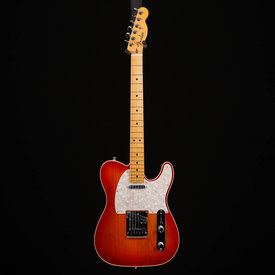 Fender Fender American Ultra Telecaster, Maple Fb, Plasma Red Burst 594 8lbs 3.2oz
