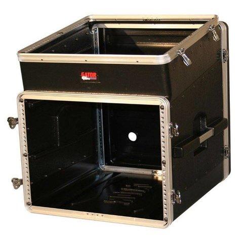 Gator GRC-10X8 10U Top, 8U Side Console Audio Rack