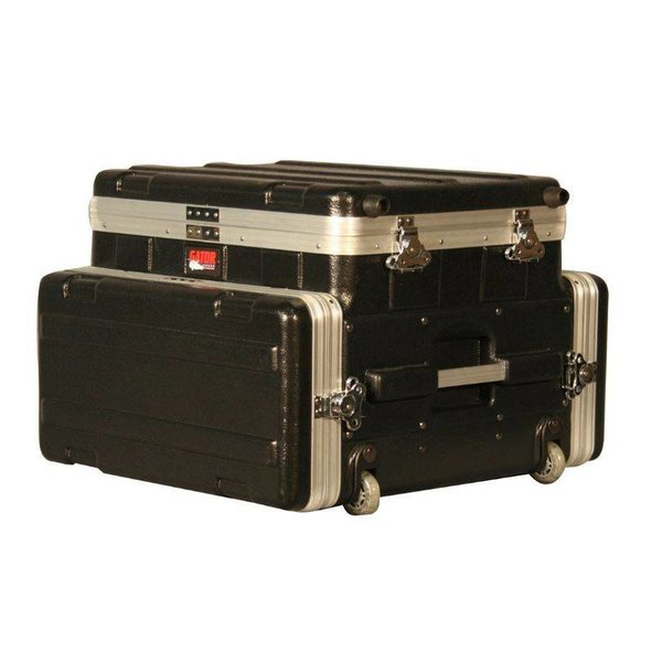 Gator Gator GRC-STUDIO4GO-W ATA Laptop or Mixer Case Over 4U Audio Rack