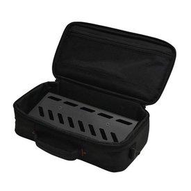 Gator Gator GPB-LAK-1 Black Aluminum Pedal Board; Small w/ Carry Bag