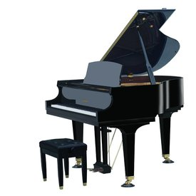 Baldwin Baldwin BP148 HPE 4'10'' Grand in Polished Ebony