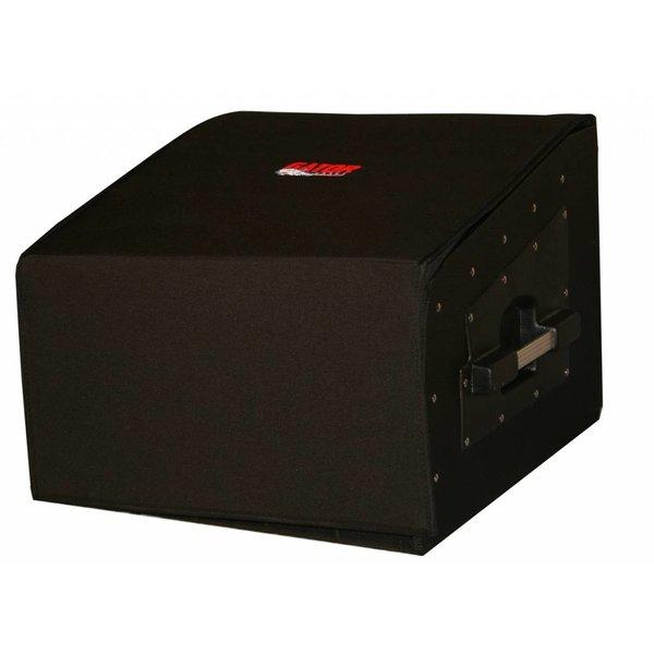 Gator Gator GRCW-10X4 10U Top, 4U Side Wood Console Audio Rack